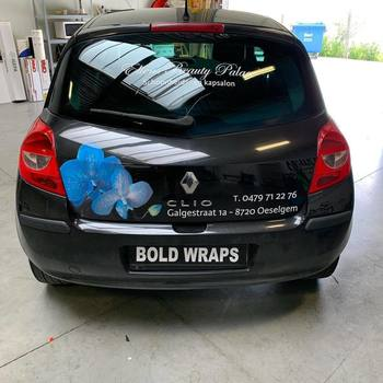 Bold Wraps - Belettering